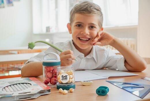 Nejlepší svačiny pro děti: Připravte je zdravě, rychle a barevně