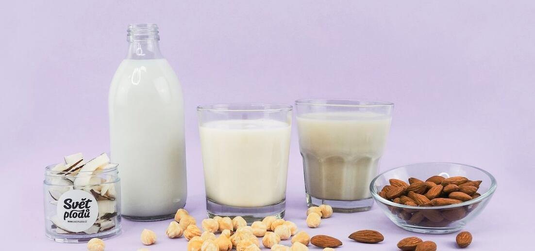 Rostlinná mléka ekologicky i zdravě