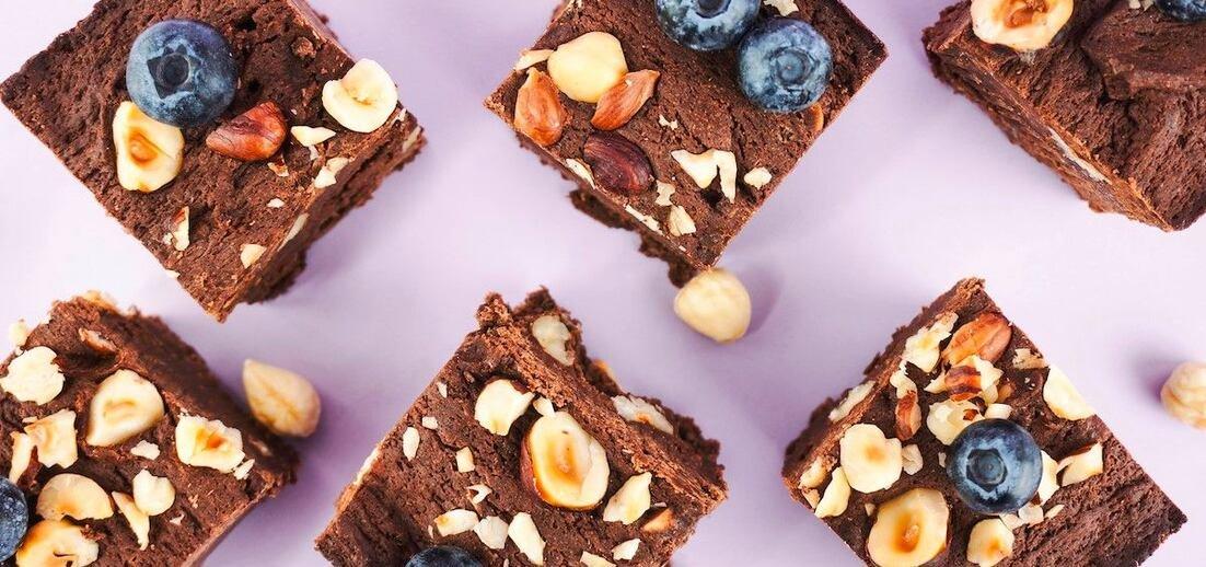 Brownies s lískovými oříšky