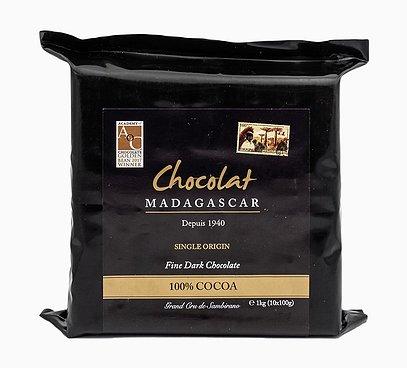 Hořká 100% čokoláda z Madagaskaru