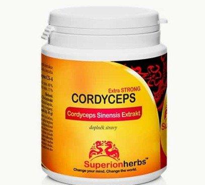 Cordyceps extrakt kapsule