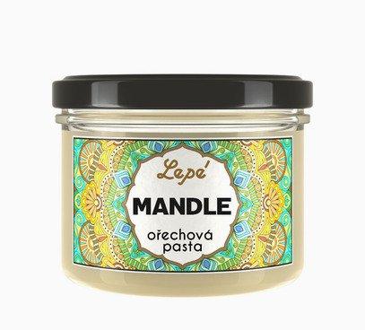 Mandle orechová pasta