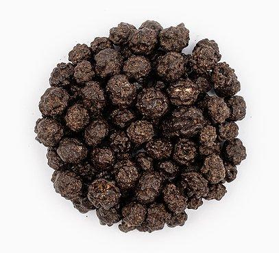 Čučoriedky lyofilizované v 70% horkej čokoláde