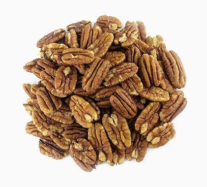 Pekanové orechy nepražené