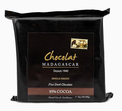 Horká 85% čokoláda z Madagaskaru