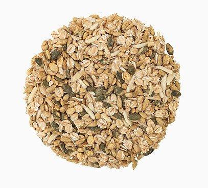 Pečené semienka s vločkami a mandľami