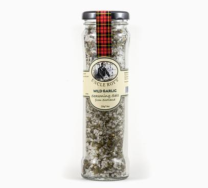 Soľ s divokým cesnakom
