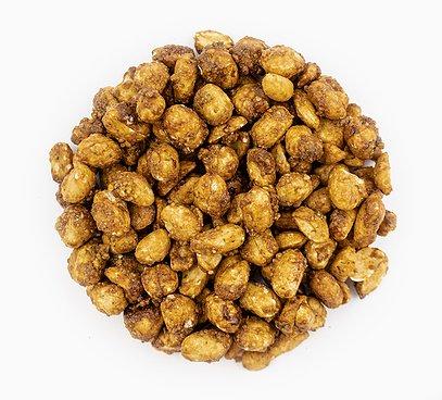 Arašídy v medu s wasabi