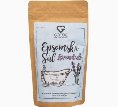 Epsomská sůl s levandulí