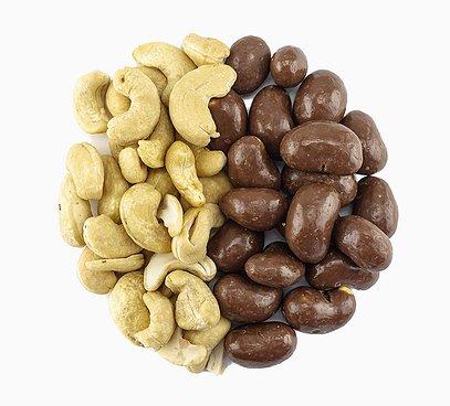 Kešu orechy v 31% mliečnej čokoláde