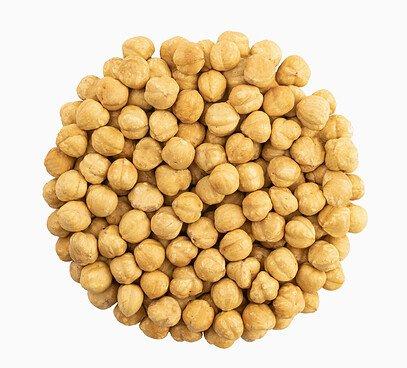 Lieskové orechy lúpané pražené na sucho