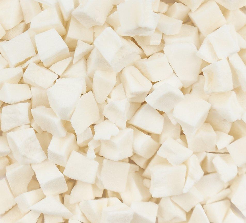 Kokos lyofilizovaný kostičky