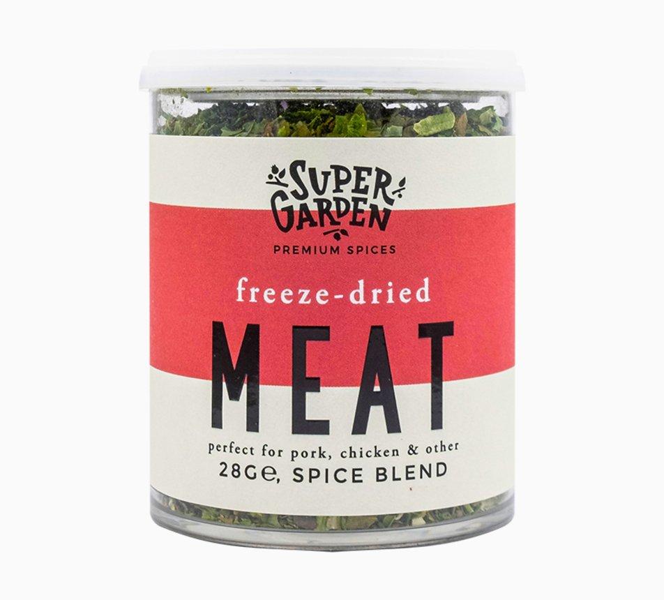 Směs lyofilizovaného koření na maso