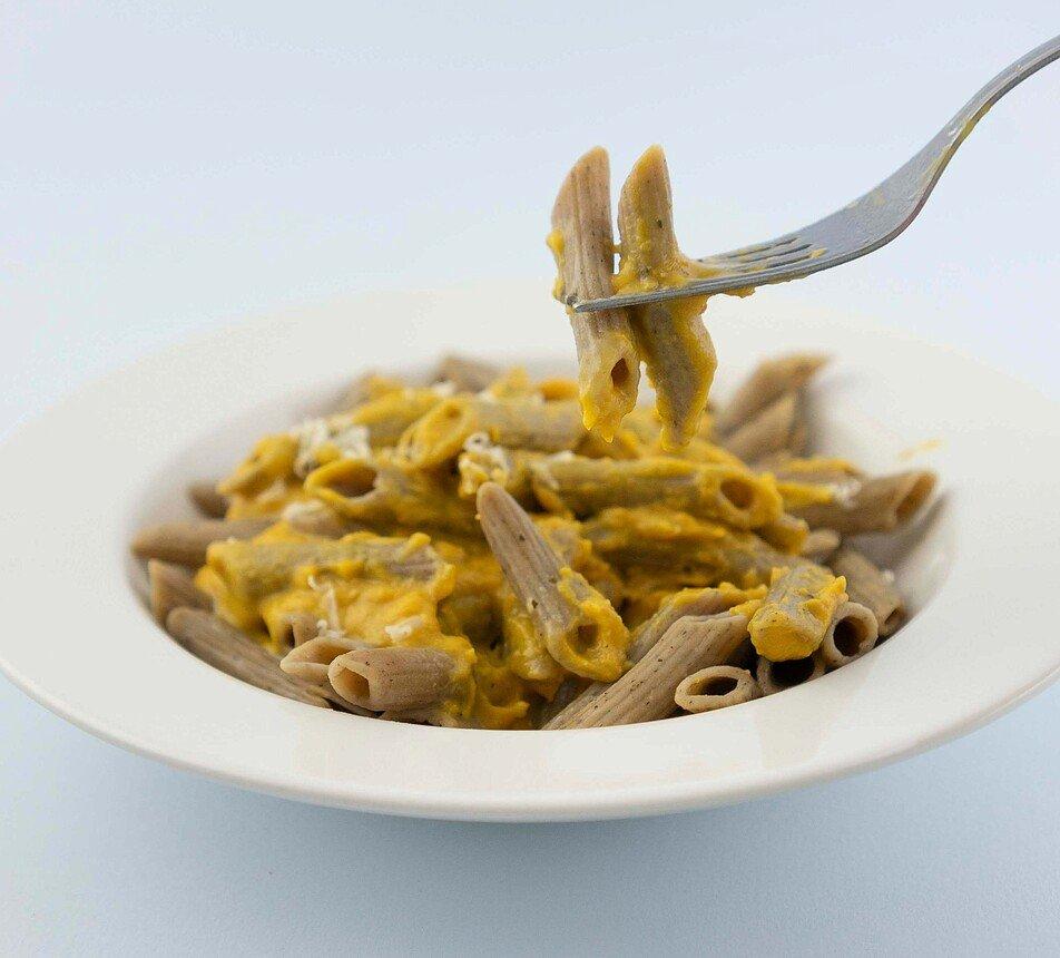 Těstoviny chilli s proteinem