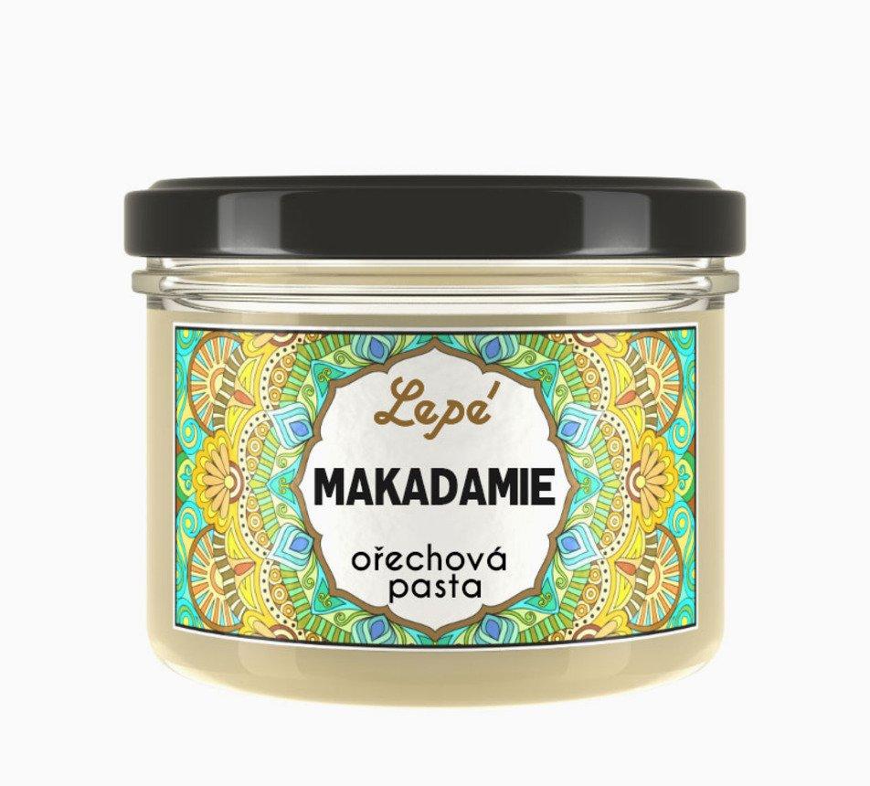 Makadam ořechové máslo