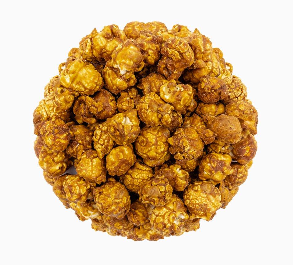 Popcorn Gourmet s pomazánkou marmite