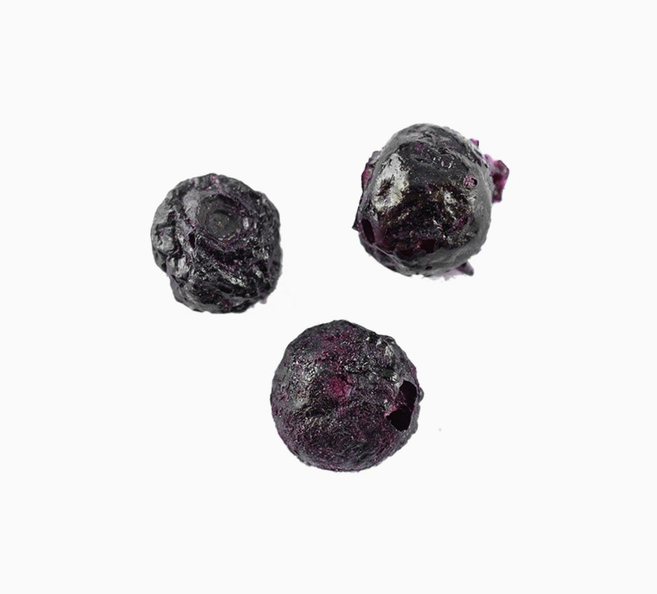 Borůvky lyofilizované