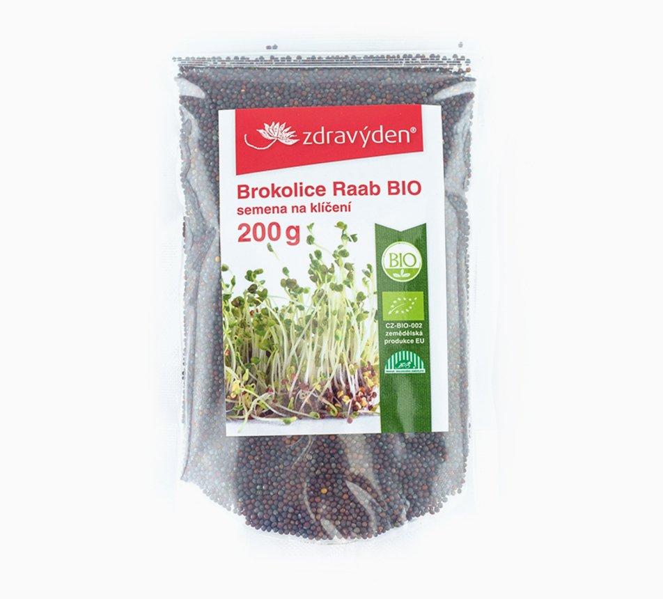 Brokolice semínka na klíčení