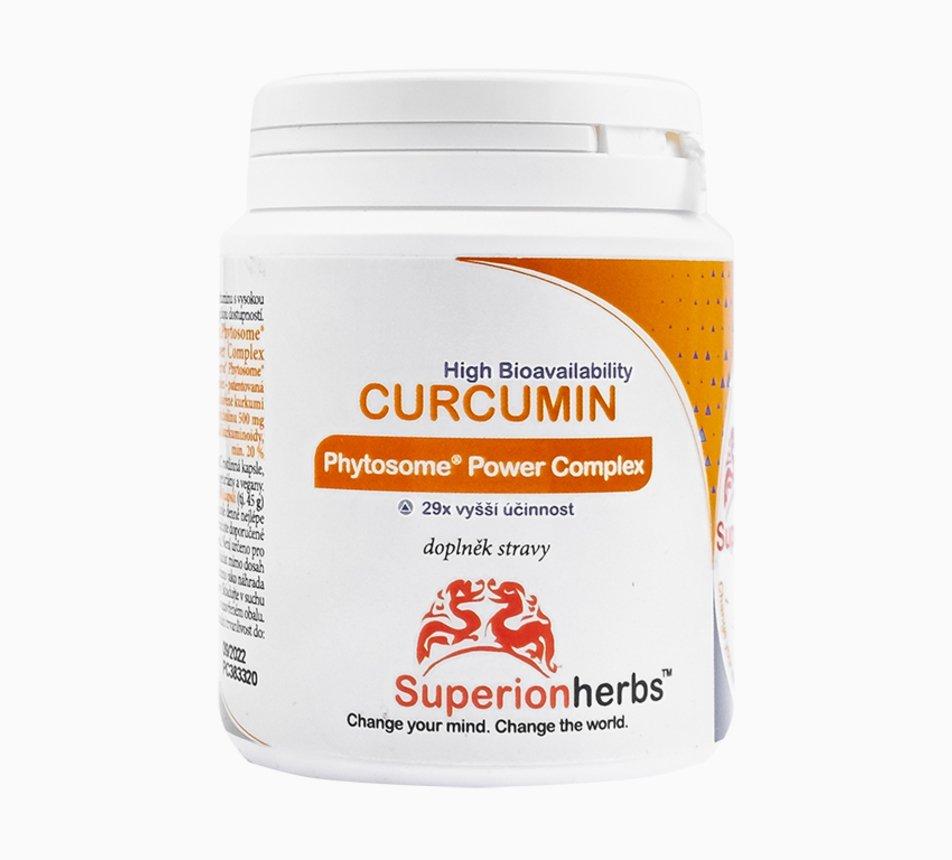 Curcumin extrakt kapsle