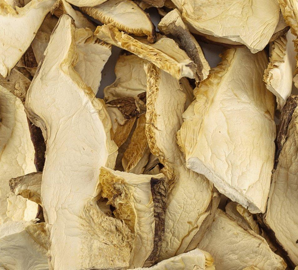 Houby shiitake sušené