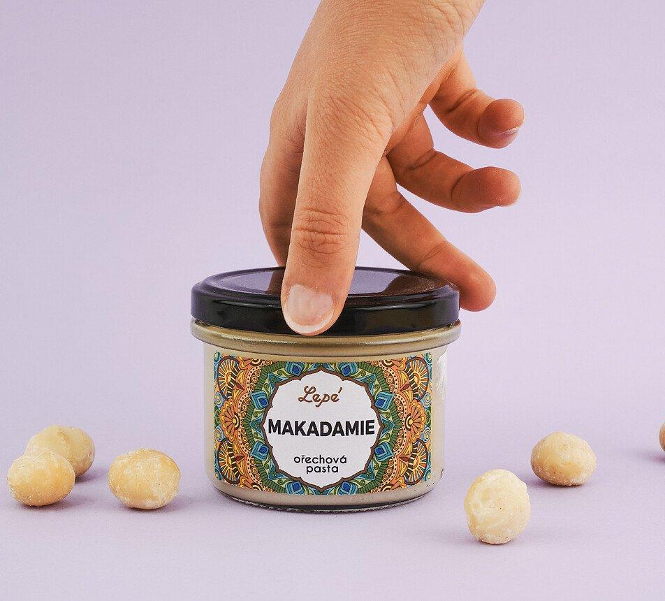 Makadam ořechová pasta