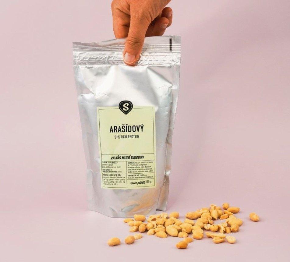Arašídový protein