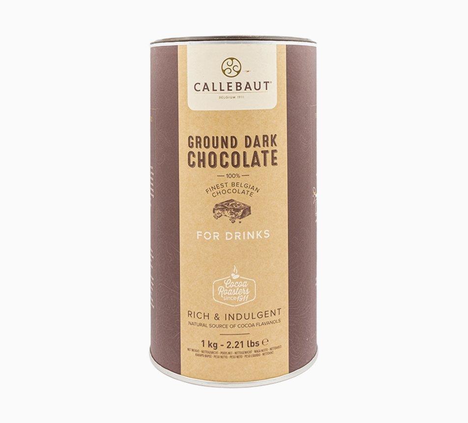 Hořká 50,1% čokoláda jemně mletá