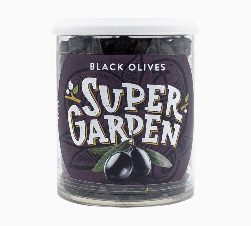 Černé olivy lyofilizované