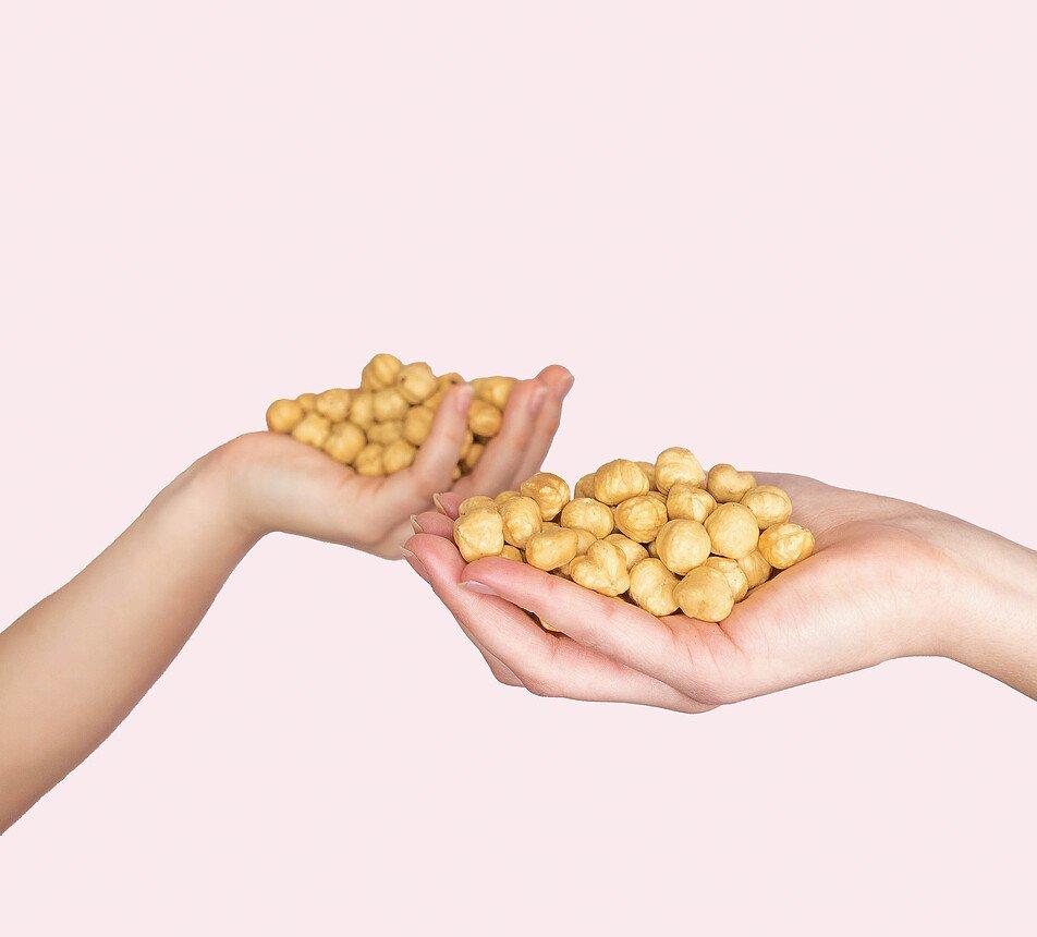 Lískové ořechy blanšírované pražené na sucho 6