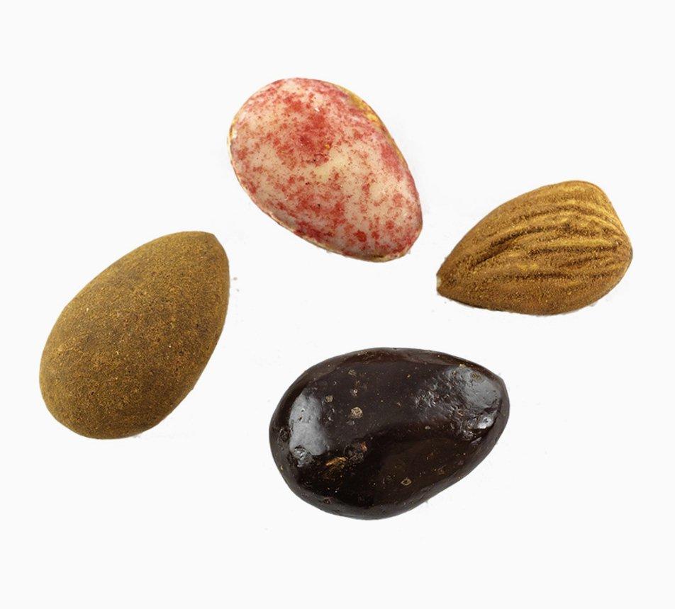 MYX Čokomandle – mandle v čokoládě