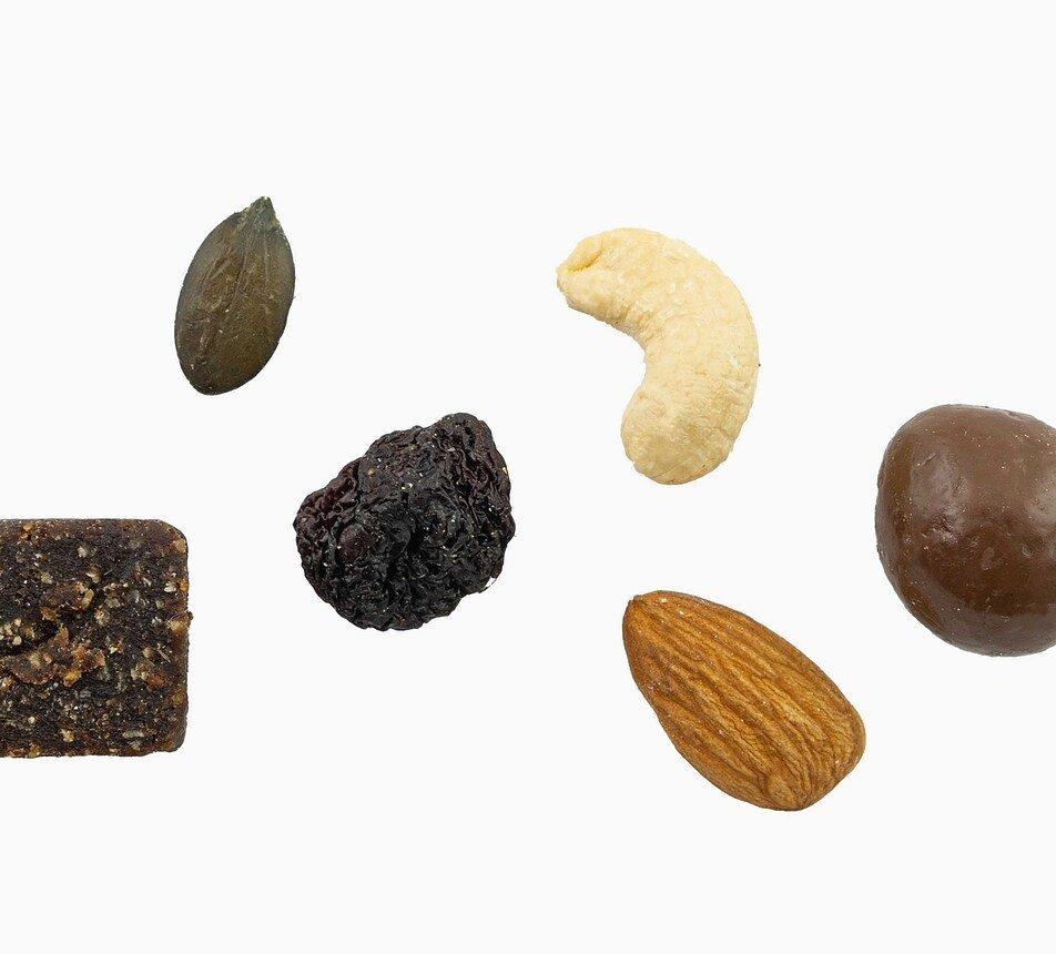 MYX Sportovec – ořechy, sušené ovoce, semínka