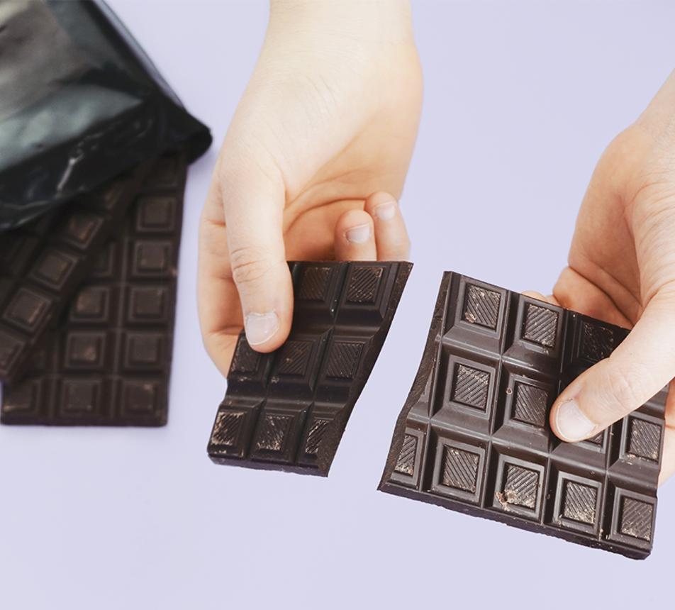 Hořká 85% čokoláda z Madagaskaru