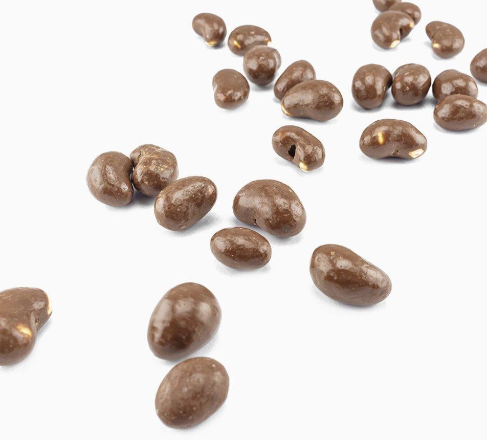 Kešu ořechy v 31% mléčné čokoládě