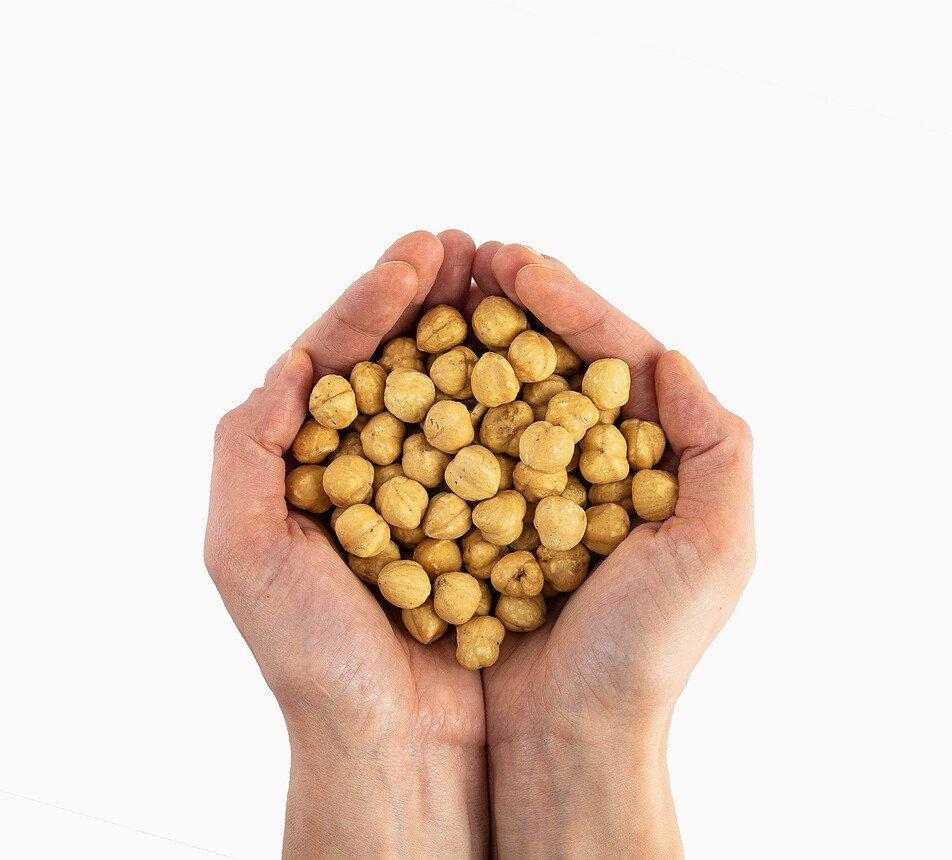 Lískové ořechy blanšírované pražené na sucho 7