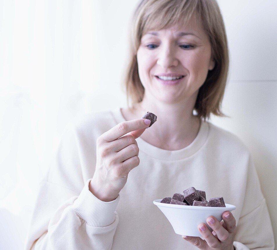 Nugátová 32 vegan čokoláda Gianduia