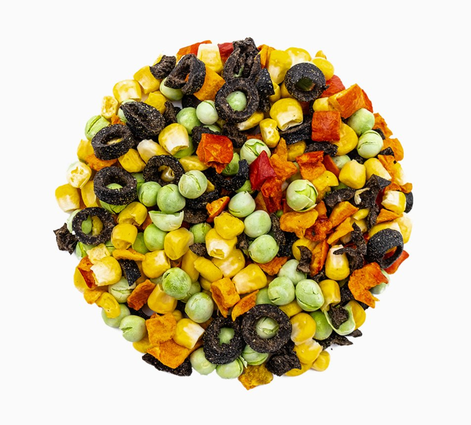 Zelenina lyofilizovaná