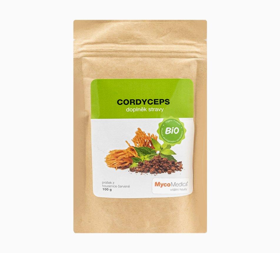 Cordyceps sušený BIO prášek