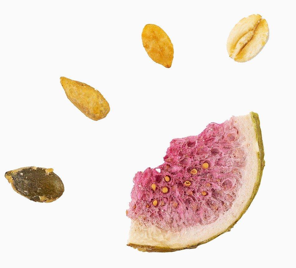 Granola fíková s pečenými semínky