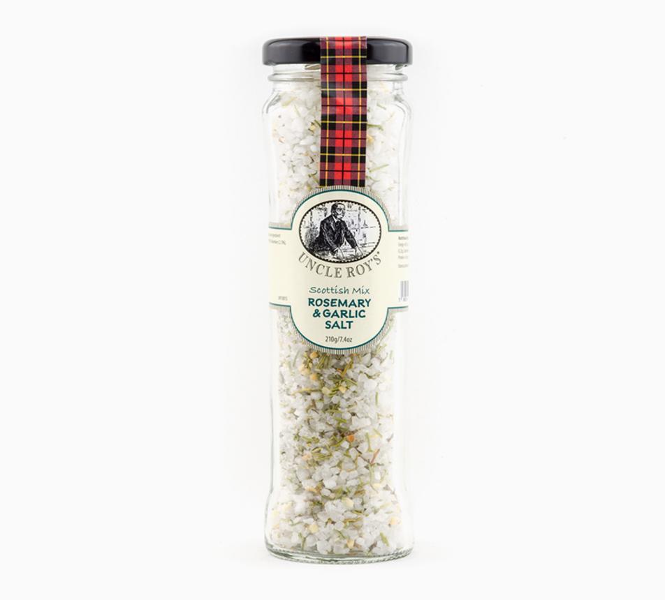 Rozmarýnovo–česneková sůl ze Skotska
