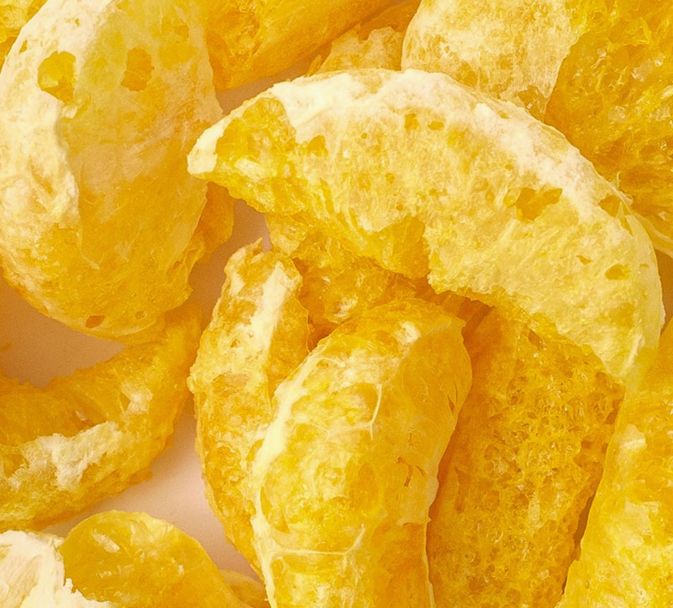 Mandarinky lyofilizované