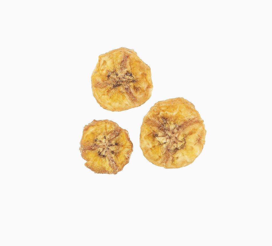 banány sušené plátky