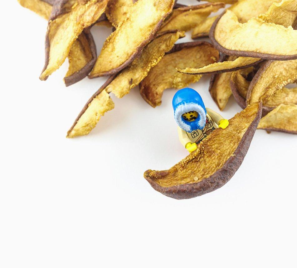 Hrušky sušené osminky