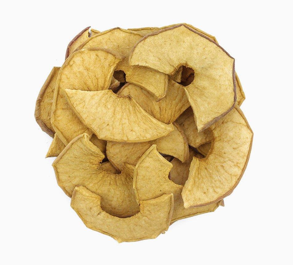 Sušená jablka se skořicí