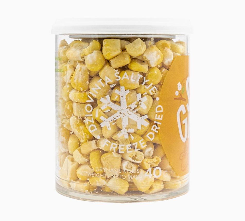 Kukuřice lyofilizovaná