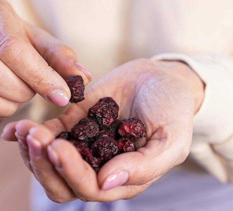 Višně lyofilizované