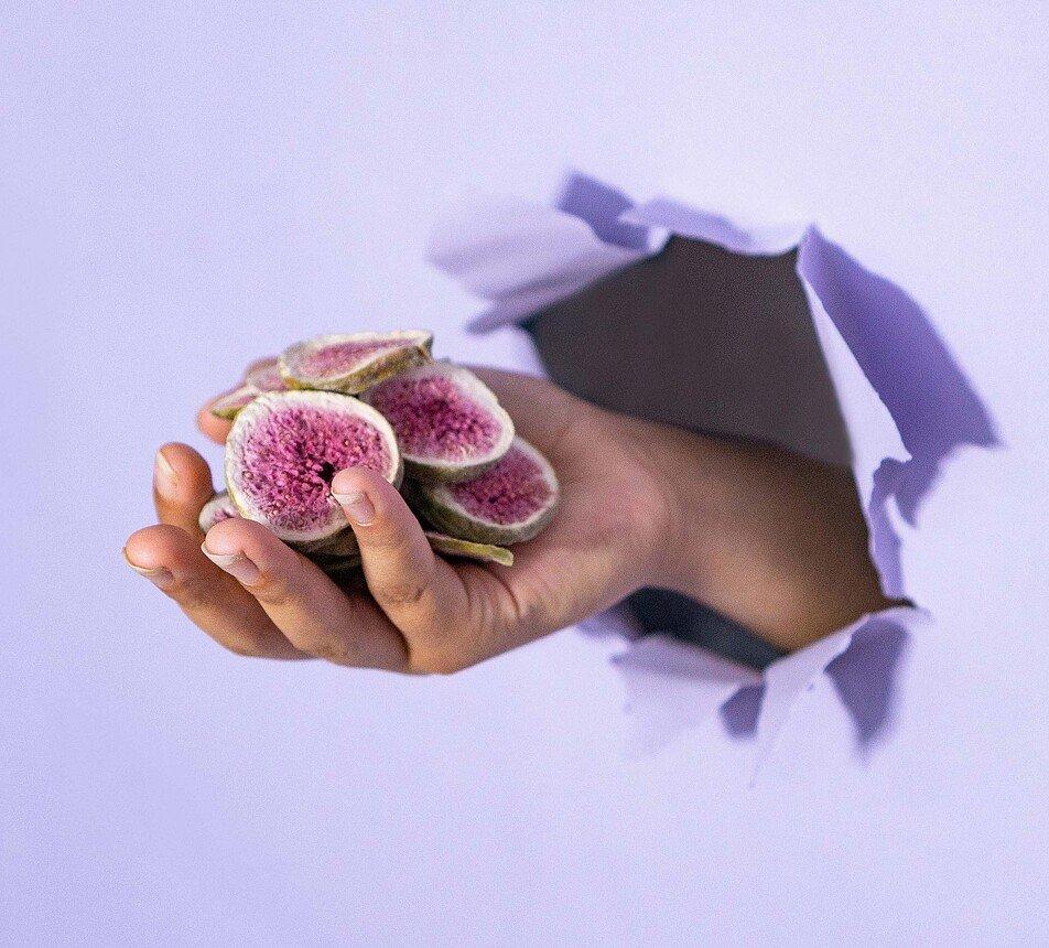 Fíky lyofilizované plátky