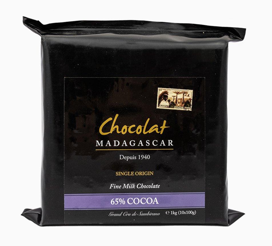 Mléčná 65% čokoláda