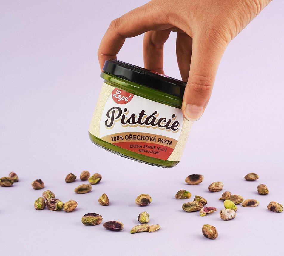 Pistácie ořechová pasta